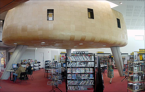 The Peckham Library.