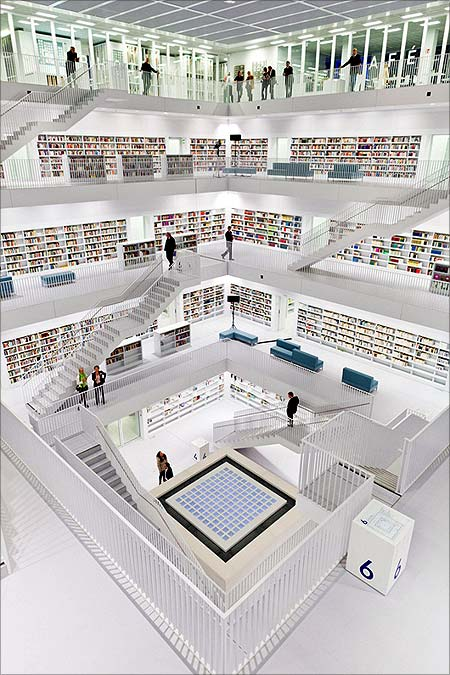 Stuttgart City Library.