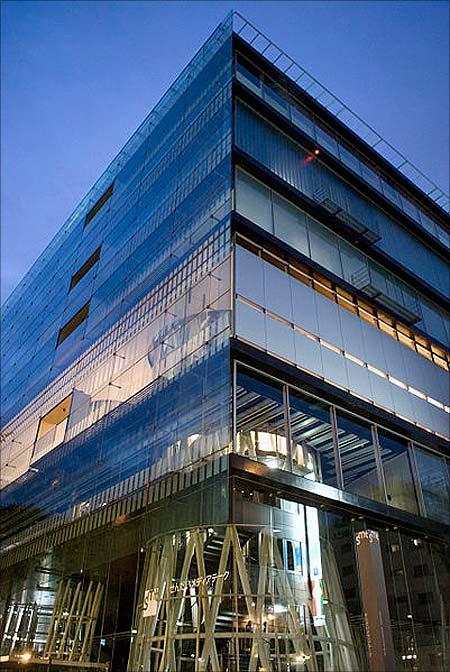 Sendai Mediatheque.
