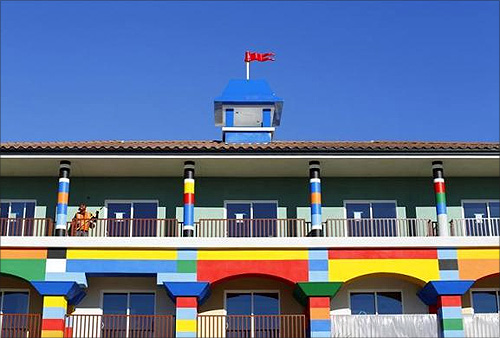 America's first ever Lego Hotel