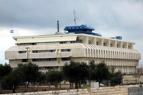 Bank of Israel, Jerusalem.