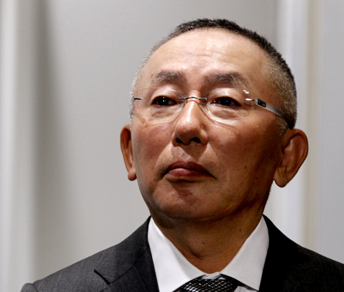 Tadashi Yanai, chairman and chief executive of Fast Retailing Co, operator of Uniqlo casual fashion chain.