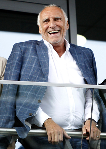Red Bull owner Dietrich Mateschitz.