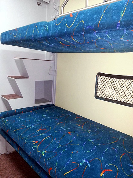 Onboard the swanky Rajdhani Express