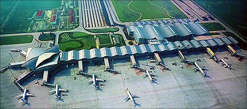 Hangzhou Xiaoshan International Airport.