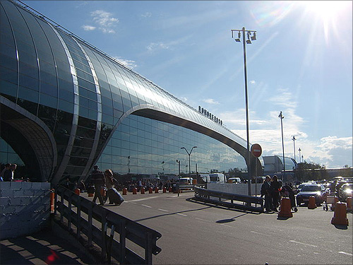 Moscow Domodedovo Airport.