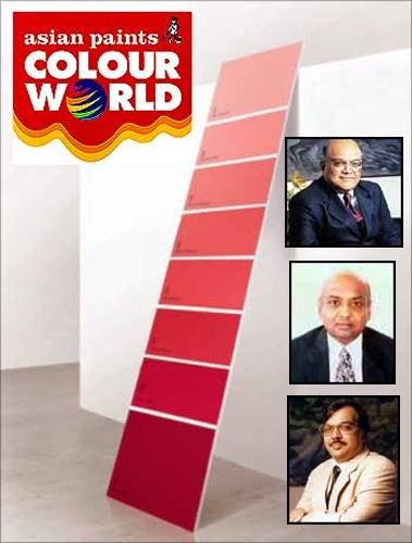 Ashwin Choksi, Ashwin Dani, Abhay Vakil  (Inset)