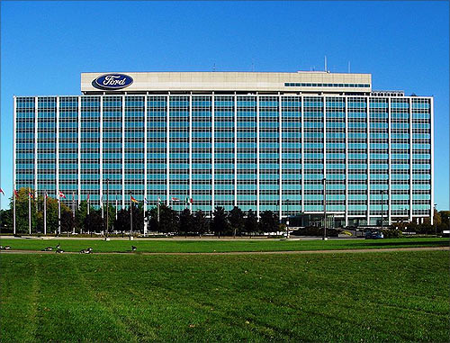 Ford Motor headquarters.
