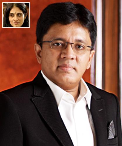 Kalanithi Maran and Kavery Kalanithi.