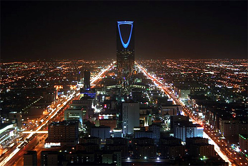 Kingdom Centre, Riyadh, Saudi Arabia.