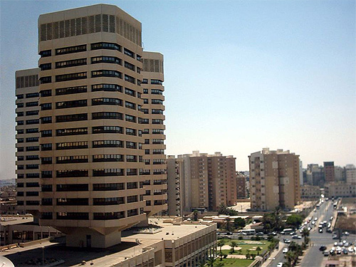 Tripoli Central Business District.