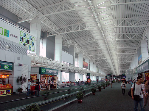 Guangzhou Baiyun International Airport.