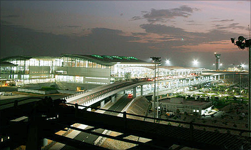Rajiv Gandhi International Airport.