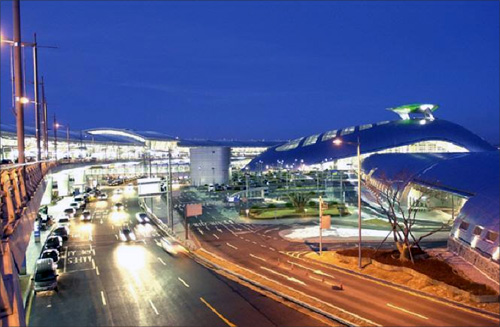 Incheon International Airport, Seoul.