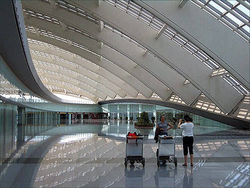 Beijing Capital International Airport.