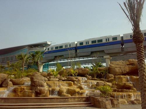 Palm Jumeirah Monorail.