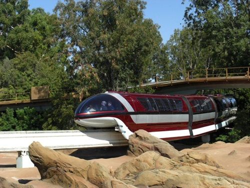 Disneyland Monorail System.