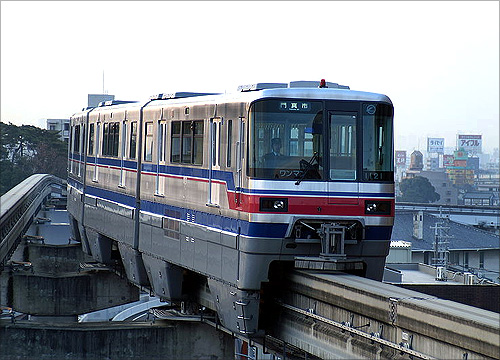 Osaka Monorail.