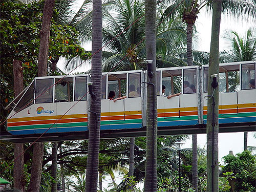 Sentosa Monorail.