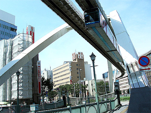 Chiba Urban Monorail.