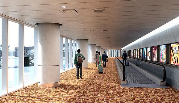 Arrival Corridor.