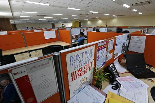Glimpses from India's BPO industry