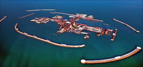 Kashagan oil field.