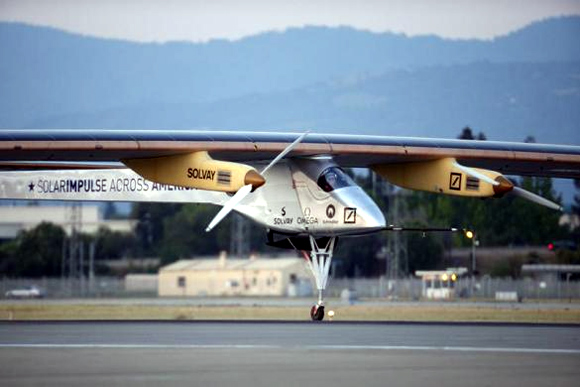Solar plane: From San Francisco to Phoenix in 18 hours!