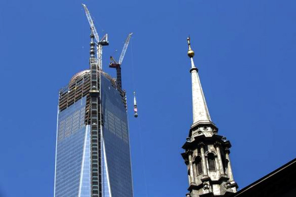 Amazing images of One World Trade center