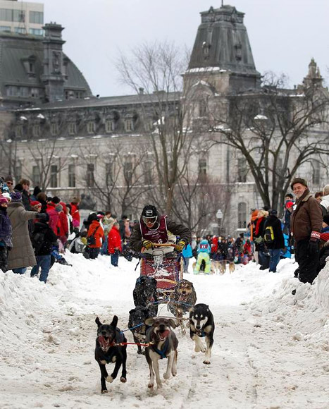 Quebec City comes to life every February for the Quebec Winter Festival.