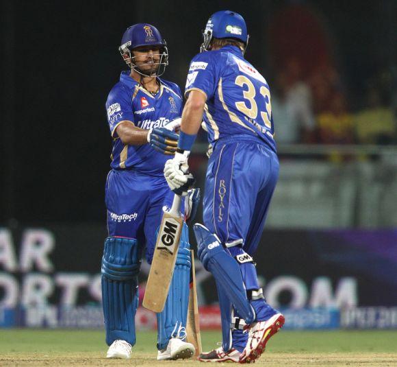 Karun Nair and Shane Watson