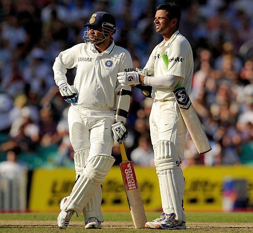 Rahul Dravid and Virender Sehwag
