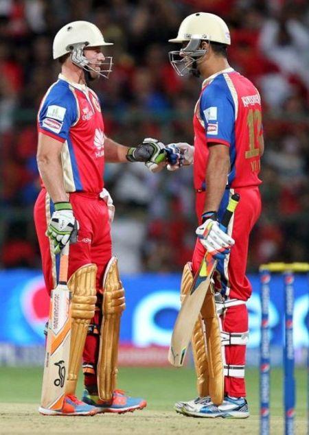 AB de Villiers and Yuvraj Singh
