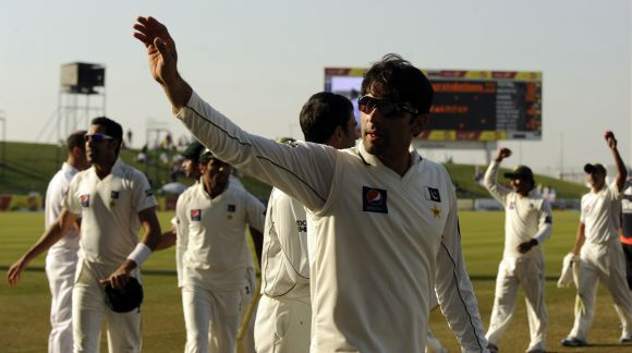 Pakistan cricket star Misbah-ul Haq.