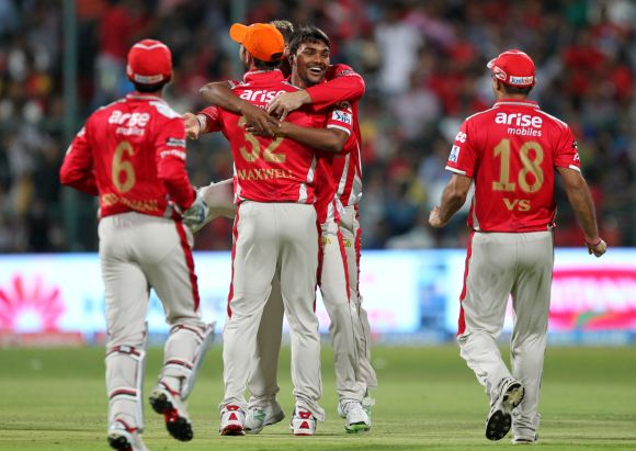 IPL PHOTOS: Punjab win battle of batting heavyweights
