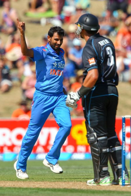 Mohammad Shami took just one wicket in three IPL games last year.