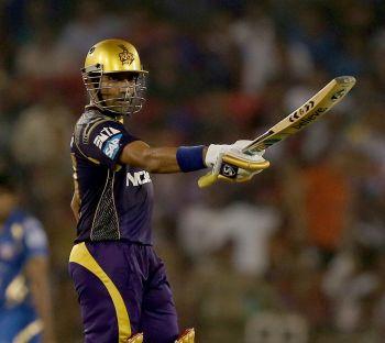 Uthappa powers Kolkata to six-wicket win over Mumbai