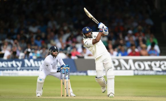 Murali Vijay plays a shot
