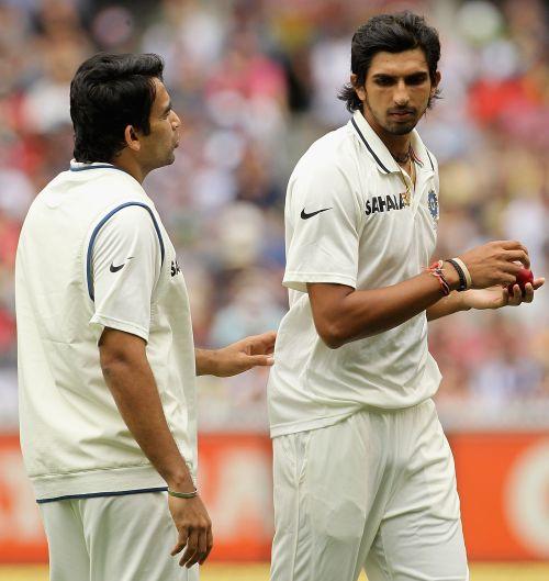 Zaheer Khan and Ishant Sharma