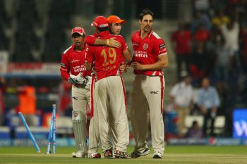 Bowlers guide Punjab to a 23-run win over Kolkata
