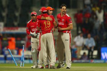 Bowlers guide Punjab to a 23-run win over Kolkata