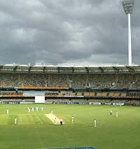General view at the Gabba
