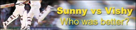 Sunny versus Vishy: Who was better?
