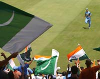 The Indo-Pak match in the World Cup