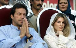 Imran Khan and Jemima