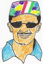 Kumble and his thinking cap