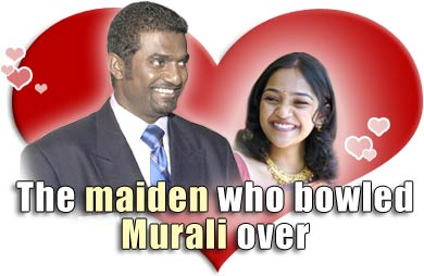 The maiden who bowled Murali over