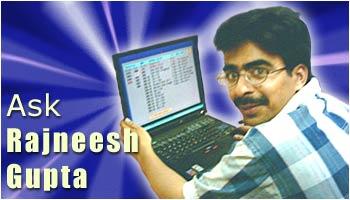 Ask Rajneesh Gupta