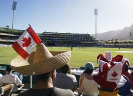 Canadian cricket fan