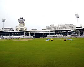 The Brabourne stadium now